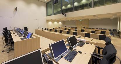 Courtroom Justitial Complex Schiphol